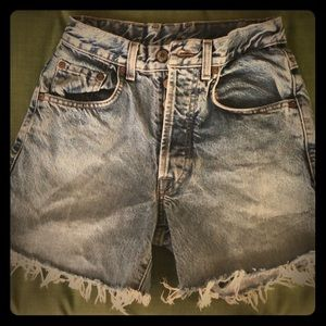 Lucky Brand Vintage Cut Off Jean Shorts